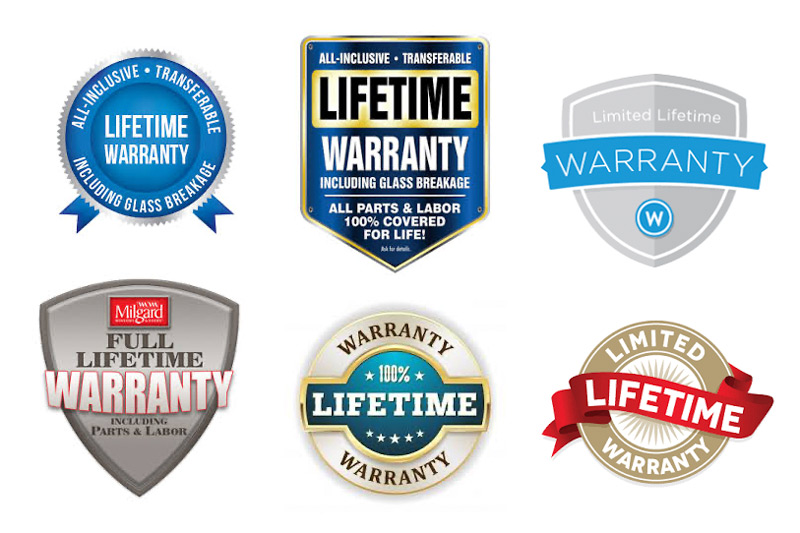 Lifetime Window Warranties